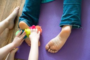 Cours de massage parent-enfant
