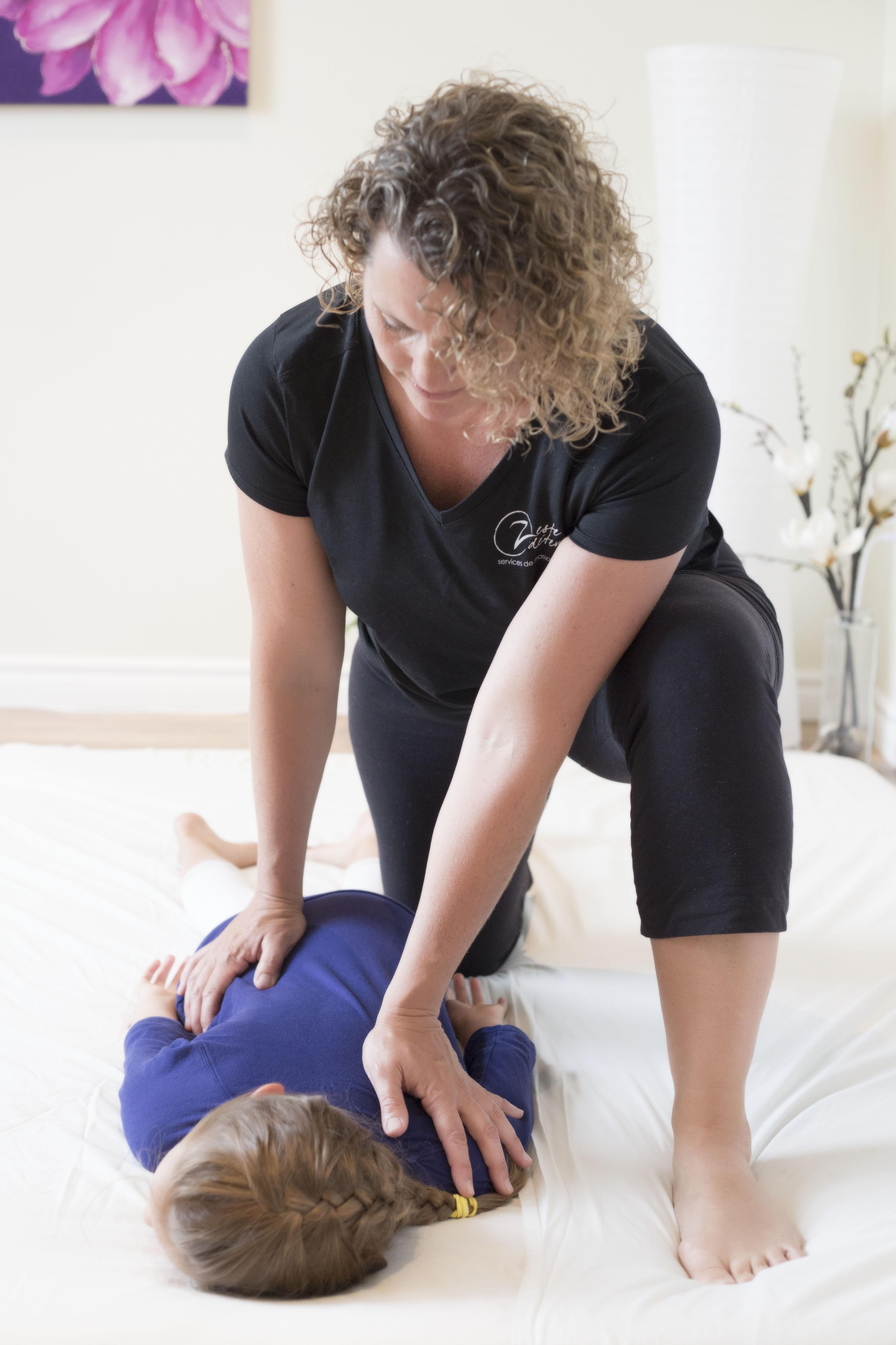 Massage MEBP Zeste Détente